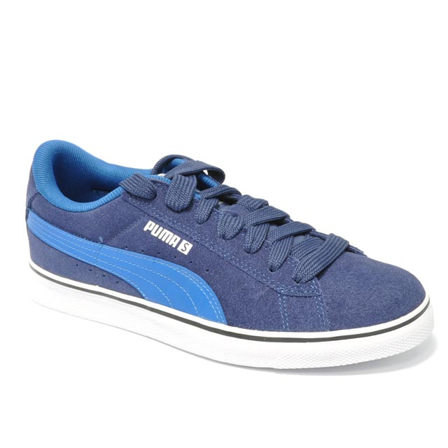 Blau Puma S. Vulc Junior Blue