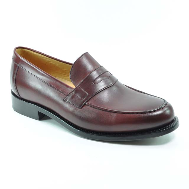 Braun Benson Loafer Burgundy