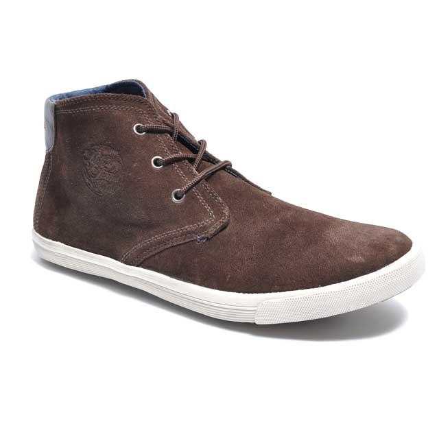Braun Pepe Jeans Halb-hohen Sneakers