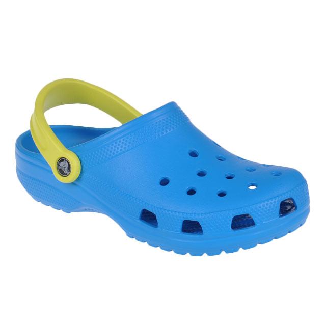 Blau Crocs Classic