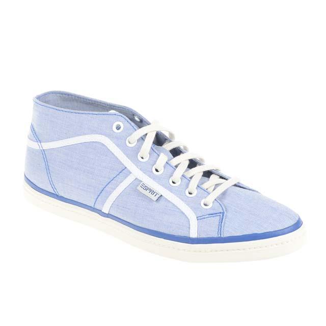 Blau Esprit Mid Sneakers
