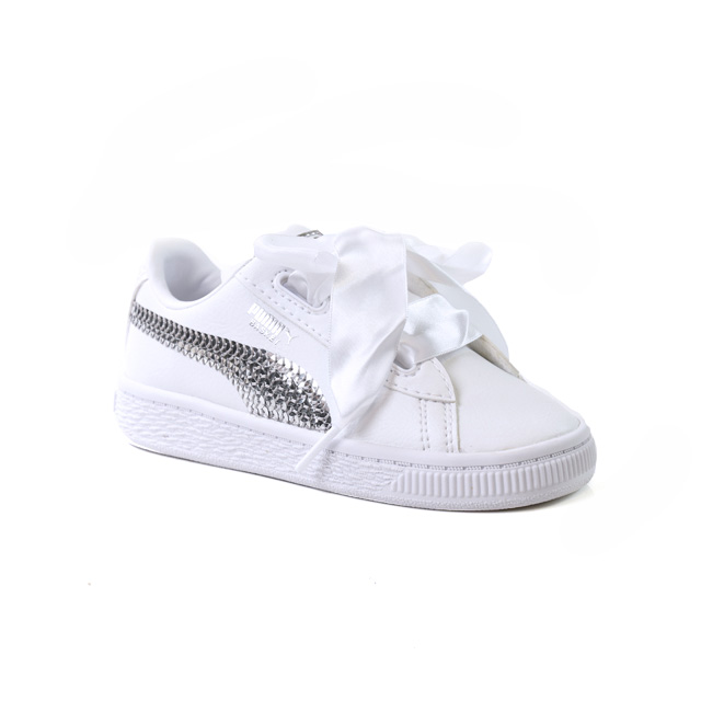 Puma Basket Hearth Bling Inf Taille 23   Enfants