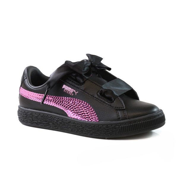 Puma Basket Hearth Bling Ps Taille 28   Enfants