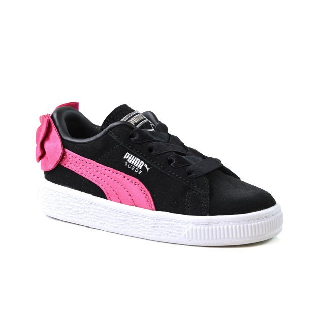 Puma Suede Bow Ac Inf Taille 20   Enfants