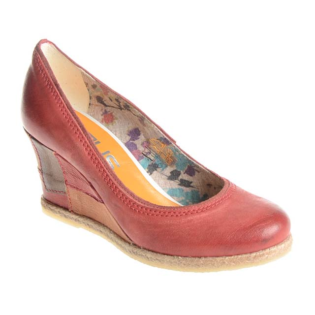 Rot MJUS Wedges Schuhe