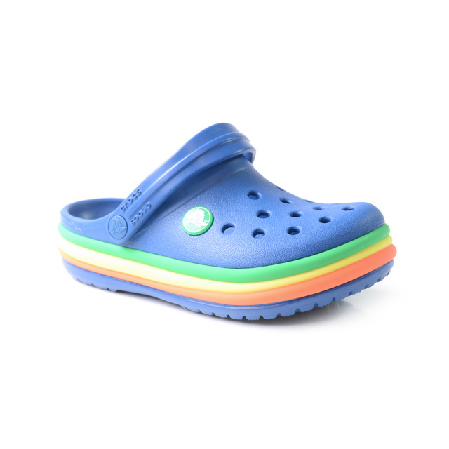 Image of Crocs Crocband Rainbow Band Clog Grösse 22 Kinder