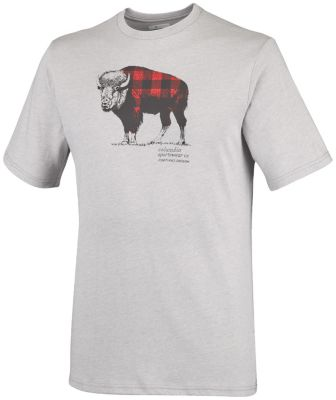 Image of Columbia Columbia Kurzarmshirt CSC Check The Buffalo™ für Männer Grösse XL Herren