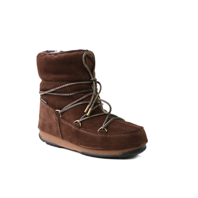 Moon Boot Low Suede Wp Taille 38   Femmes