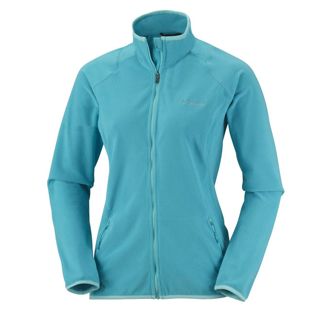 Blau Columbia Summit Rush Full Zip