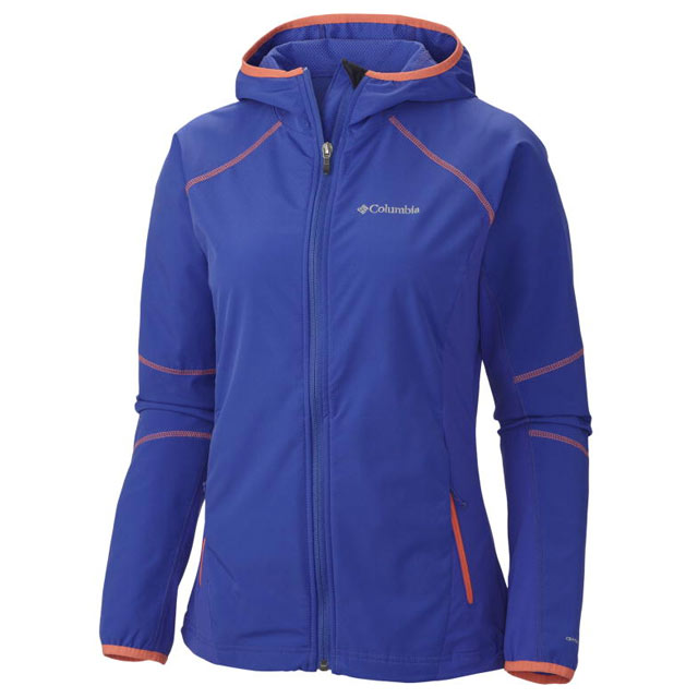 Blau Columbia Sweet As Softshell Hoodie