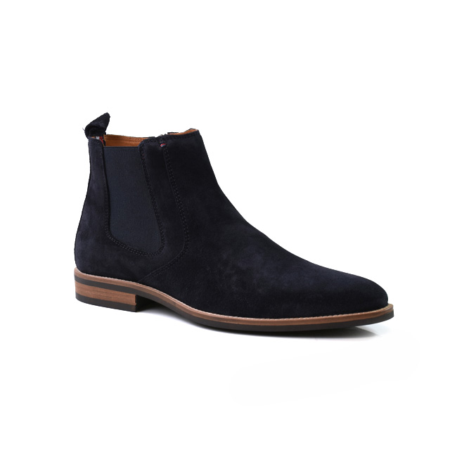 Tommy Hilfiger Essential Suede Chelsea Boot Taille 45   Hommes