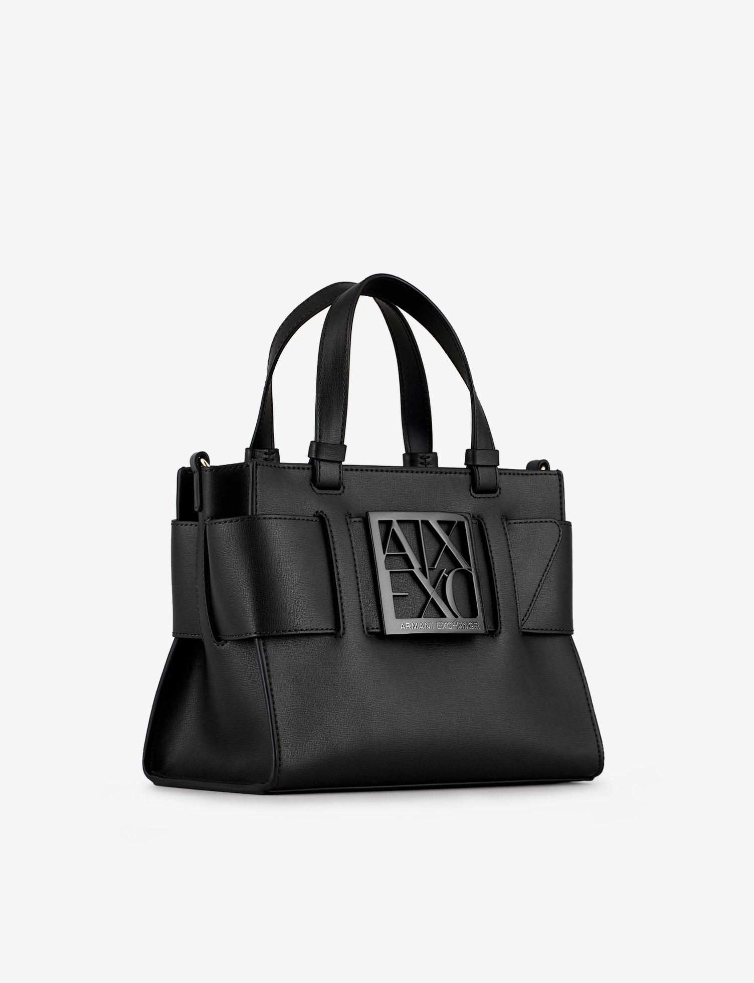 Image of Armani Exchange Bug Flat Shoulder Bag Grösse Einmalige Grösse Damen