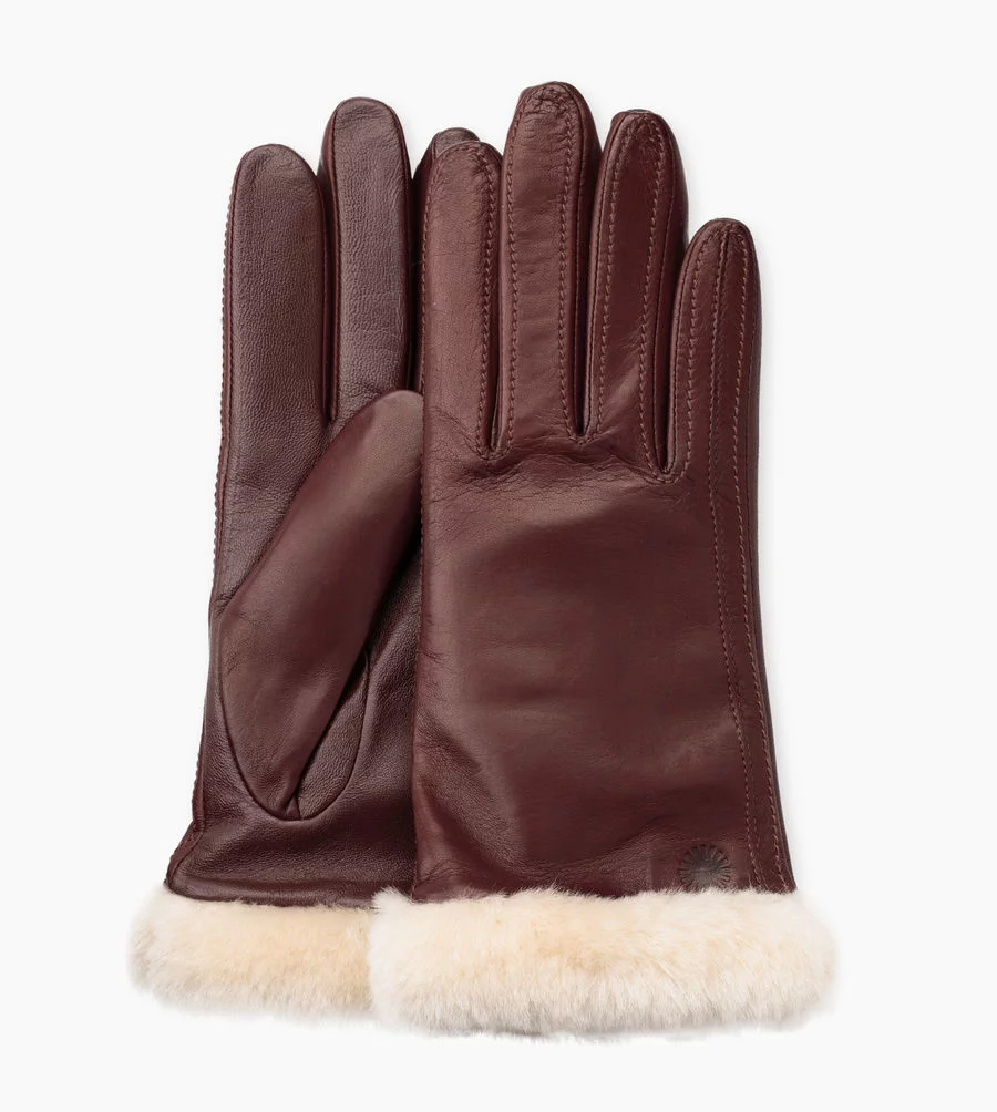UGG W's Classic Leather Smart Glove Taille S   Femmes