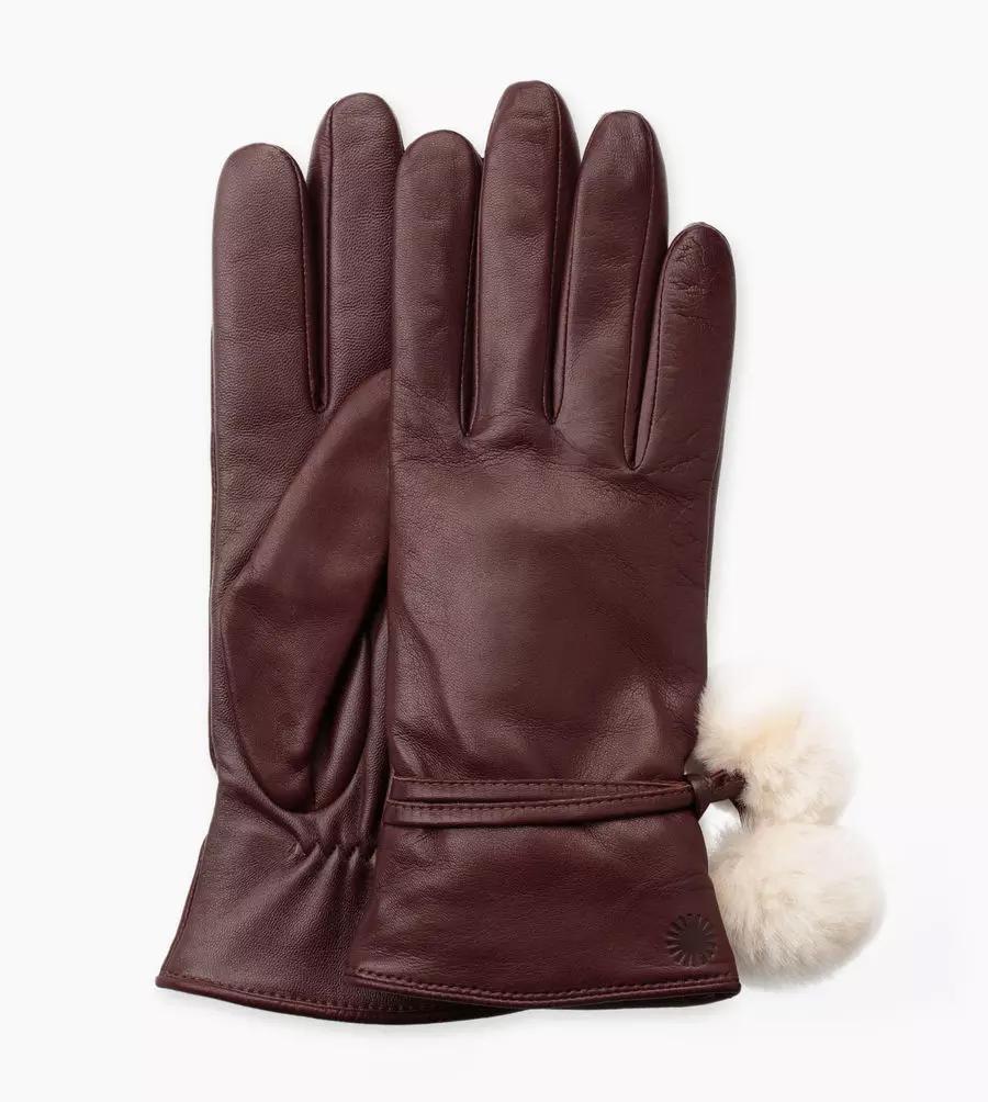 UGG W's Brita Smart Glove with Poms Taille S   Femmes
