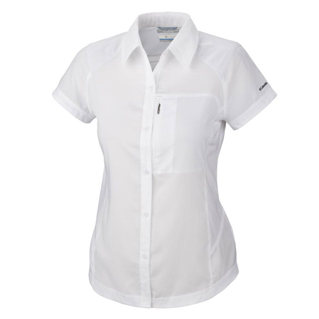 Image of Columbia Silver Ridge Short Sleeve Shirt Grösse S - Damen
