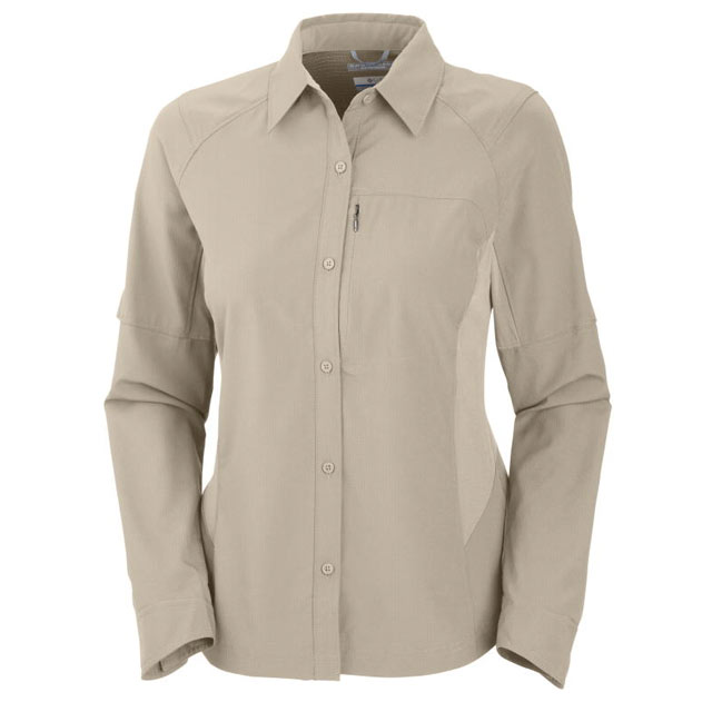 Image of Columbia Silver Ridge Long Sleeve Shirt Grösse M - Damen
