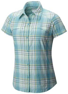 Image of Columbia Columbia Silver Ridge™ Multi Plaid kurzärmliges Shirt für Damen Grösse L Damen