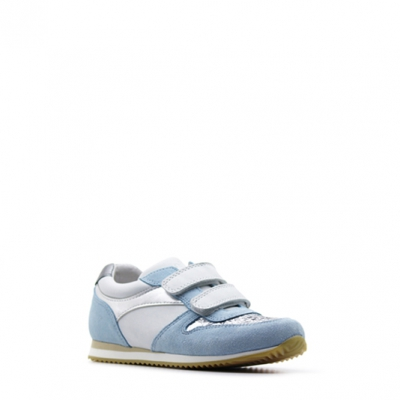 Benjie Nava velcro Bleu ciel Taille 34   Enfants