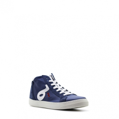 Benjie Ometto logo lace Bleu marine Taille 39   Enfants