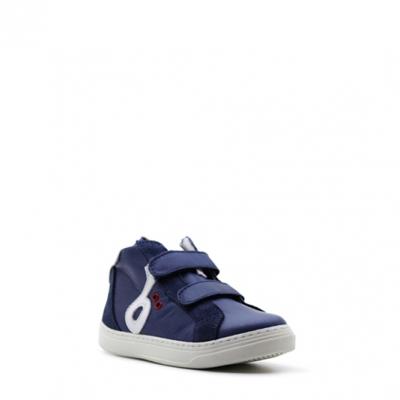 Benjie Ometto logo velcro Bleu marine Taille 32   Enfants